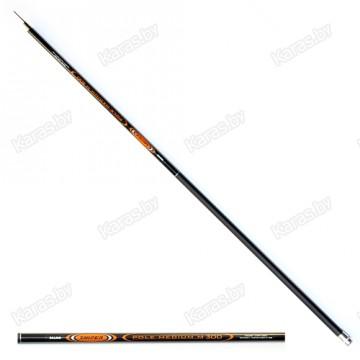 Удочка маховая Salmo Sniper Pole Medium M 4 м, композит, тест: 2 - 15 г , 205 г